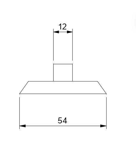 MARO®-Sichtbetonverschluss für Halteplatten M20 System Philipp