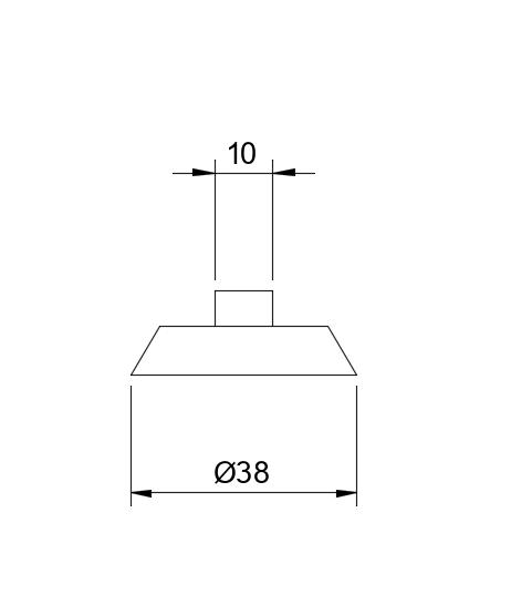 MARO®- Sichtbetonverschluss für Halteplatten
